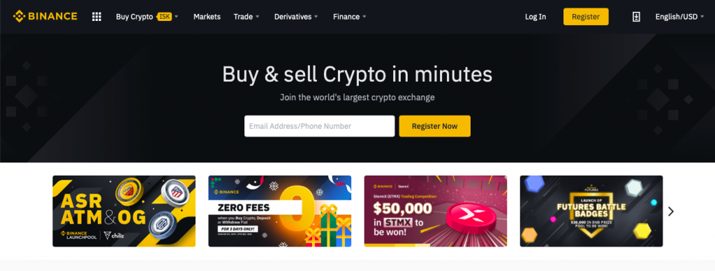 Binance Web